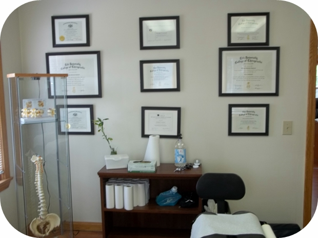 erie chiropractor credentials