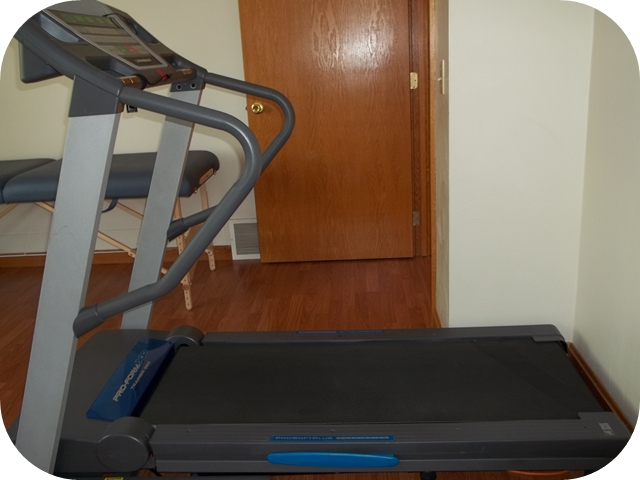 rehab on the treadmill
